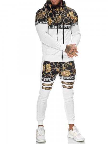 Herren Jogginganzug Trainingsanzug Sportanzug Fitness Streetwear JG-1425