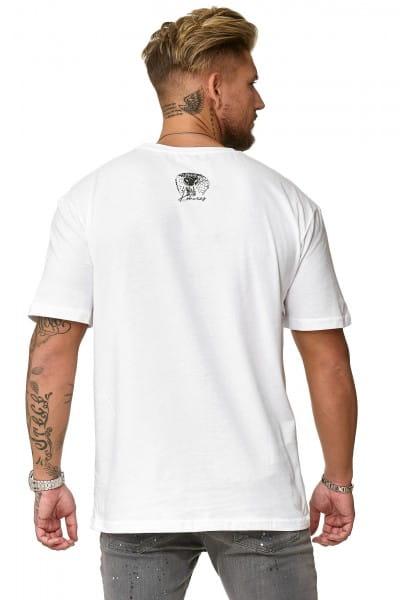 Herren T-Shirt Poloshirt Shirt Kurzarm Printshirt Polo Kurzarm KOK06