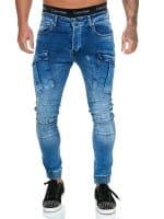 Designer Mens Jeans Pants Regular Skinny Fit Jeans Basic Stretch Model j-8007