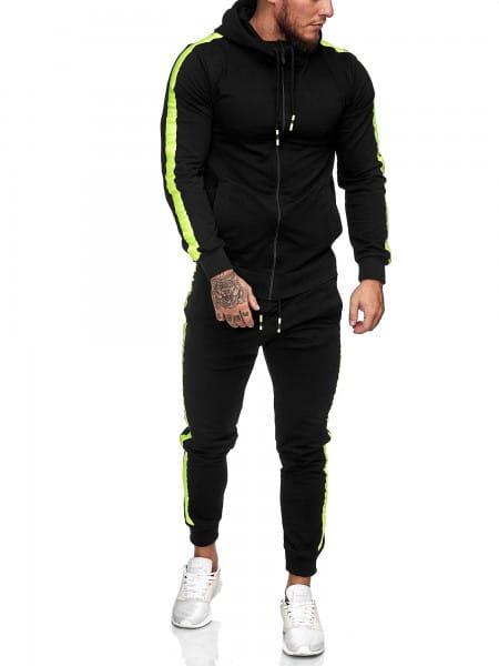 Survêtement jogging homme survêtement survêtement survêtement fitness streetwear 1062cn