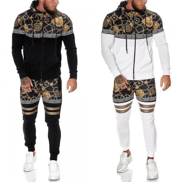 Survêtement de jogging pour hommes Survêtement de sport Survêtement de sport Vêtements de ville jg-1425