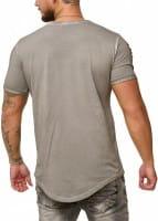 OneRedox Chemise pour homme Sweat à capuche à manches longues Chemise à manches courtes Sweatshirt T-Shirt 9082/83