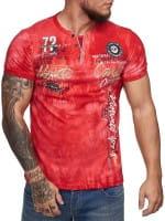 Heren T-Shirt Polo Shirt Korte mouw Printshirt Polo Korte mouw 3ds8