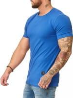 Heren T-Shirt Polo Shirt Korte mouw Printshirt Polo Korte mouw 1307c
