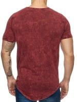 Heren T-Shirt Polo Shirt Korte mouw Printshirt Polo Korte mouw 9033c