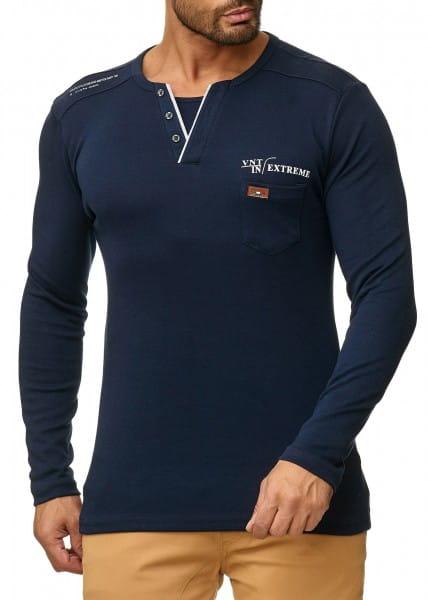 OneRedox Pull à capuche pour homme Sweat à capuche Sweat veste à capuche Sweat à manches longues Sweatshirt Modèle de base 1046