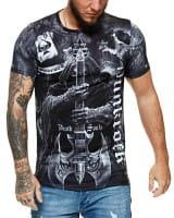 Herren T-Shirt Kurzarm Rundhals Punkrock Modell 1483