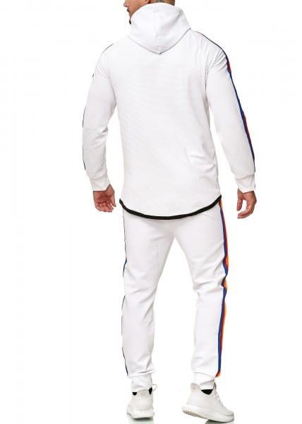 Heren trainingspak trainingspak fitness streetwear 1244c