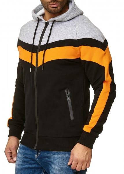 Heren trui hoodie trui lange mouw lange mouw 1013810