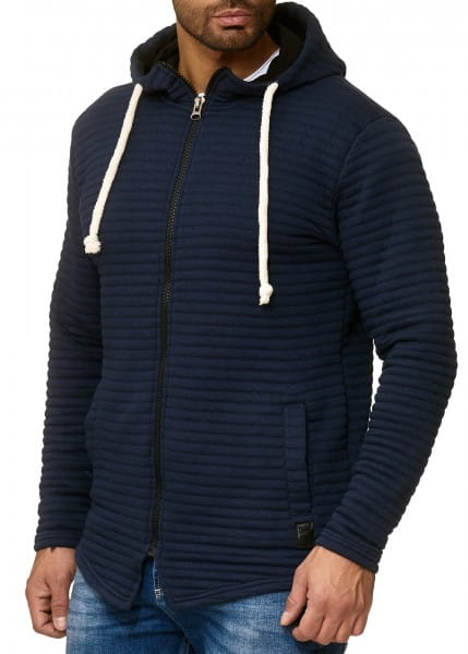OneRedox Chandail à capuche à capuchon Pull à capuchon tricoté Chandail à manches longues Sweatshirt à manches longues Sweatshirt Modèle 1272