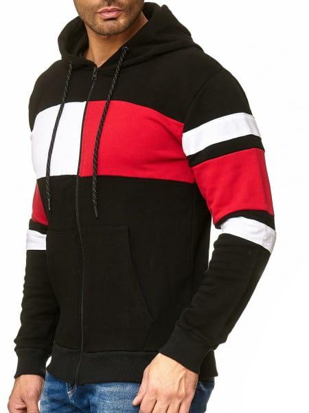 Heren trui hoodie trui lange mouw 1254c