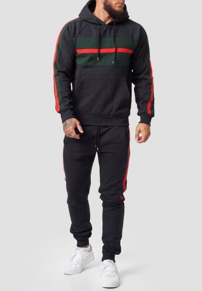 OneRedox | Herren Jogginganzug | Streetwear | Fitness | Sportanzug | Hoodie-Sporthose | Jogging-Anzu