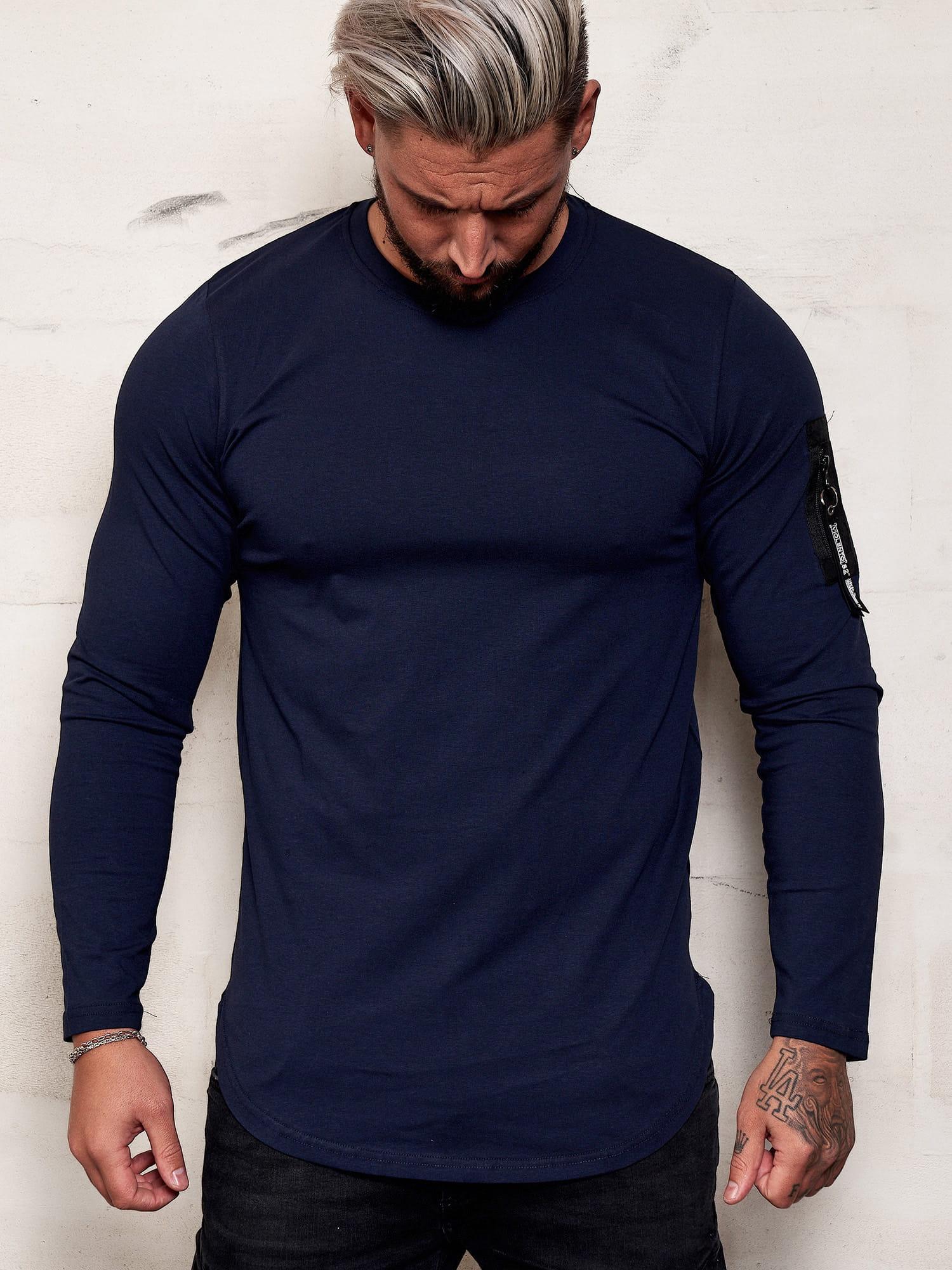 Herren Longsleeve Shirt Langarm Sweatshirt Langarmshirt Modell ...