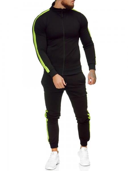 Herren Jogginganzug Trainingsanzug Sportanzug Fitness Streetwear JG-1068