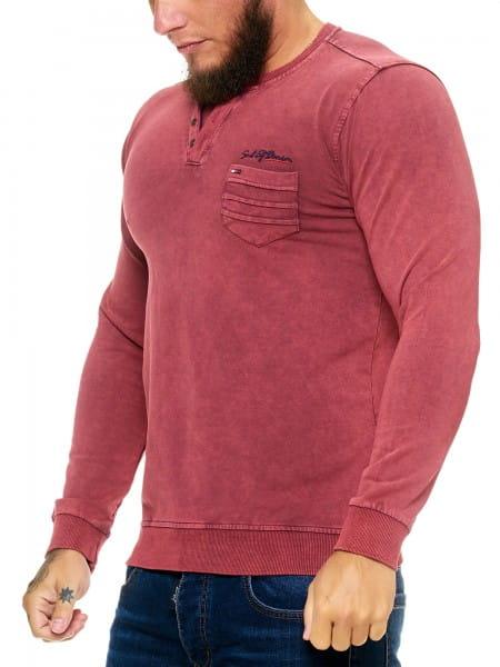 Heren Sweatshirt Longsleeve Longsleeve Hoodie Model h-1482