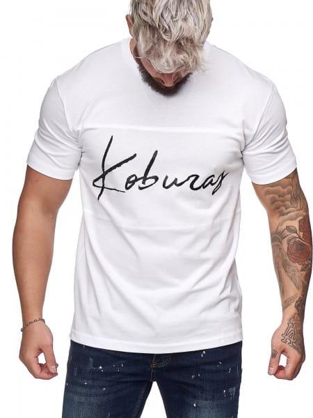T-shirt pour hommes Polo à manches courtes Imprimé Polo à manches courtes ko19-t1