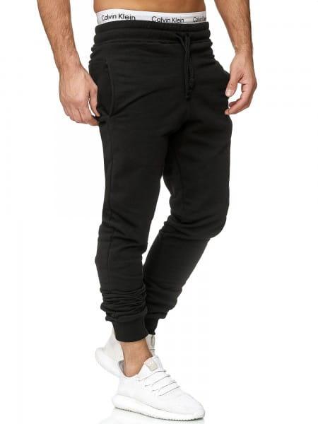 OneRedox Hommes   Pantalon de survêtement   Pantalon de survêtement   Pantalon de survêtement   Sport Fitness   Gym   Entraînement   Slim Fit   Sweatpants Stripes   Pantalon de survêtement   Pantalon rayé   Modèle 5000c