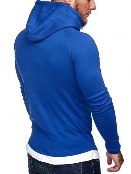 Heren trui hoodie sweatshirt met lange mouw 1073ch