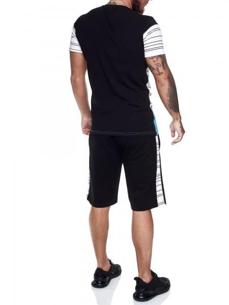 Heren Korte trainingspak Kort trainingspak Sportief Korte T-Shirt Model 1461