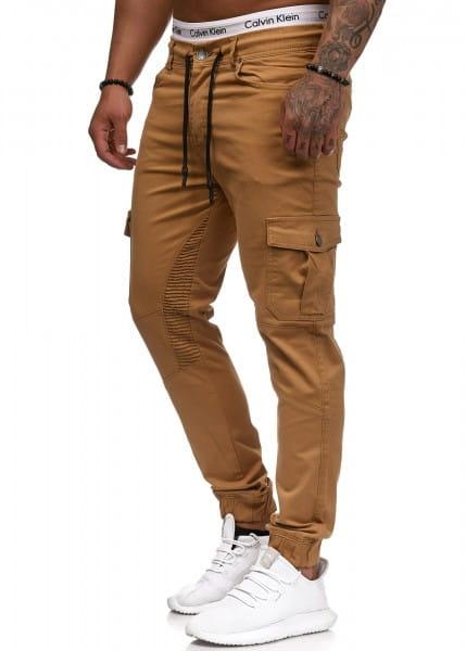 Herren Chino Hose Jeans Designer Chinohose Slim Fit Männer Skinny 3207C