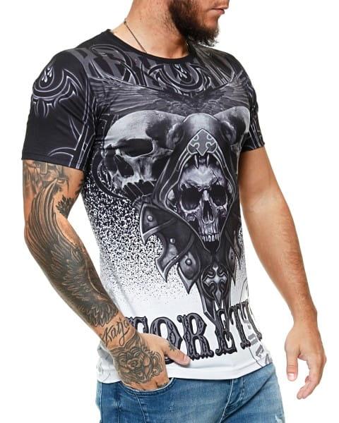 Herren T-Shirt Kurzarm Rundhals Toretto Modell 1492