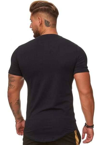 Heren T-Shirt Polo Shirt Korte mouw Printshirt Polo Korte mouw ko3390