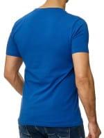 Heren T-Shirt Polo Shirt Korte mouw Printshirt Polo Korte mouw 1308c
