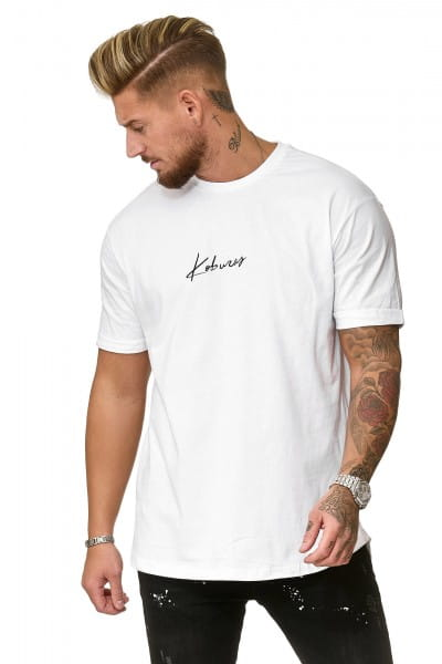 Heren T-Shirt Polo Shirt Korte mouw Printshirt Polo Korte mouw ko19-t4