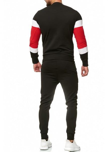 Herren Jogginganzug Trainingsanzug Sportanzug Fitness Streetwear 1215C