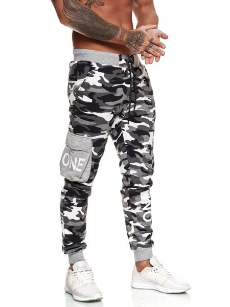 OneRedox Pantalon de jogging pour hommes Pantalon de jogging Streetwear Sports Pants Fitness Clubwear Modèle 13103