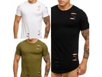Herren T-Shirt Poloshirt Shirt Kurzarm Printshirt Polo Kurzarm 9080C