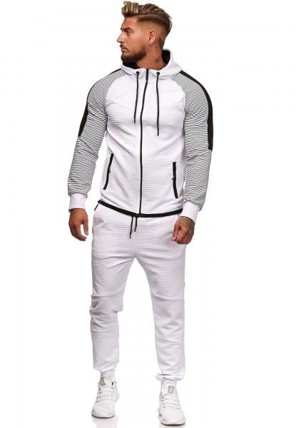 Herren Jogginganzug Trainingsanzug Sportanzug Fitness Streetwear 1121C