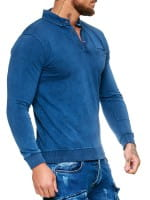 OneRedox Sweatshirt pour hommes Sweatshirt manches longues à capuche manches longues à manches longues modèle h-1484