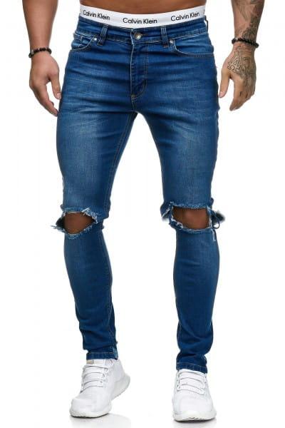 Herren Jeans Hose Slim Fit Männer Skinny Denim Designerjeans 5130C