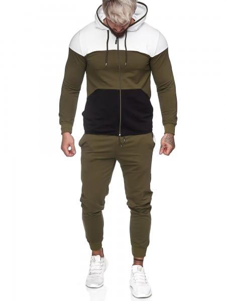 Survêtement de jogging pour hommes Survêtement de sport Survêtement de sport Streetwear jg-1083