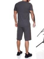 Heren Korte trainingspak Kort trainingspak Sportief Korte T-Shirt Model 1463