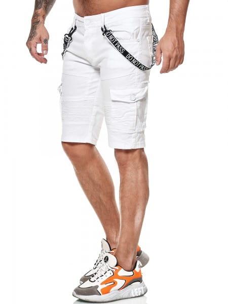 Herren Shorts Bermuda Jeansshorts Destroyed Wash Clubwear Modell E7558