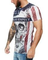Herren T-Shirt Kurzarm Rundhals Earned My Respect Modell 1476