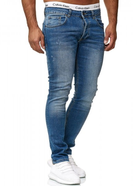 Heren Jeans Broek Slim Fit Heren Magere Denim Designer Jeans 600js