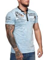 Heren T-Shirt Polo Shirt Korte mouw Printshirt Polo Korte mouw 3ds9