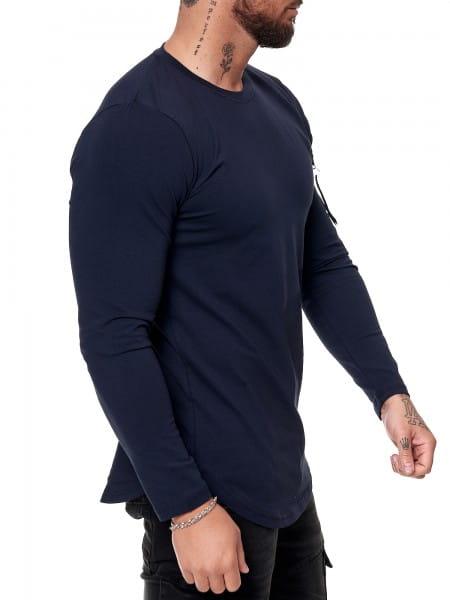 Herren Longsleeve Shirt Langarm Sweatshirt Langarmshirt Modell 1056