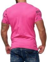 OneRedox T-Shirt homme manches courtes manches courtes T-shirt homme manches courtes polo homme 3d modèle 3381