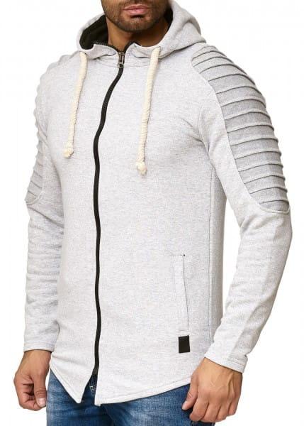 OneRedox Pull à capuche Hoodie Sweater Sweater tricoté à capuche Pull à manches longues pour homme modèle 1270