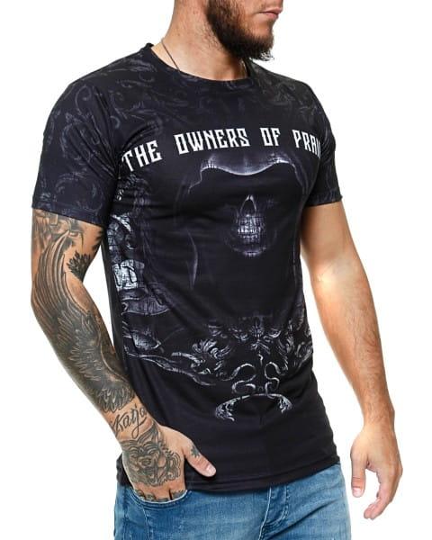 Herren T-Shirt Kurzarm Rundhals The Owners Of Prairie Modell 1491