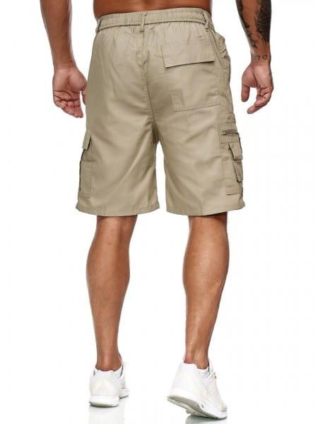 OneRedox Hommes Cargo Shorts Short Cargo Short Pantalon court Bermuda Short Summer Cargoshort Cargo Pantalon Cargo Modèle Bermuda 200
