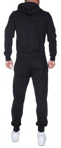 OneRedox Herren Jogginganzug Ornament Design Barockmuster Sportanzug Trainingsanzug Laufanzug Freize