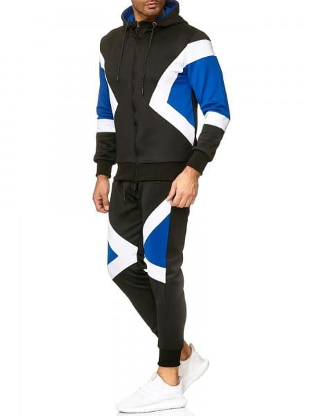 Herren Jogginganzug Trainingsanzug Sportanzug Fitness Streetwear A03C