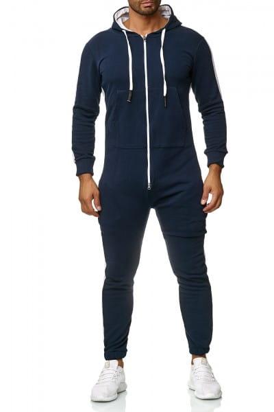Heren jumpsuit eendelig trainingspak Streetwear 1257cs