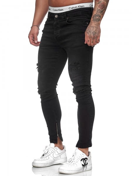 Heren Jeans Broek Slim Fit Heren Mager Denim Designer Jeans j-8002