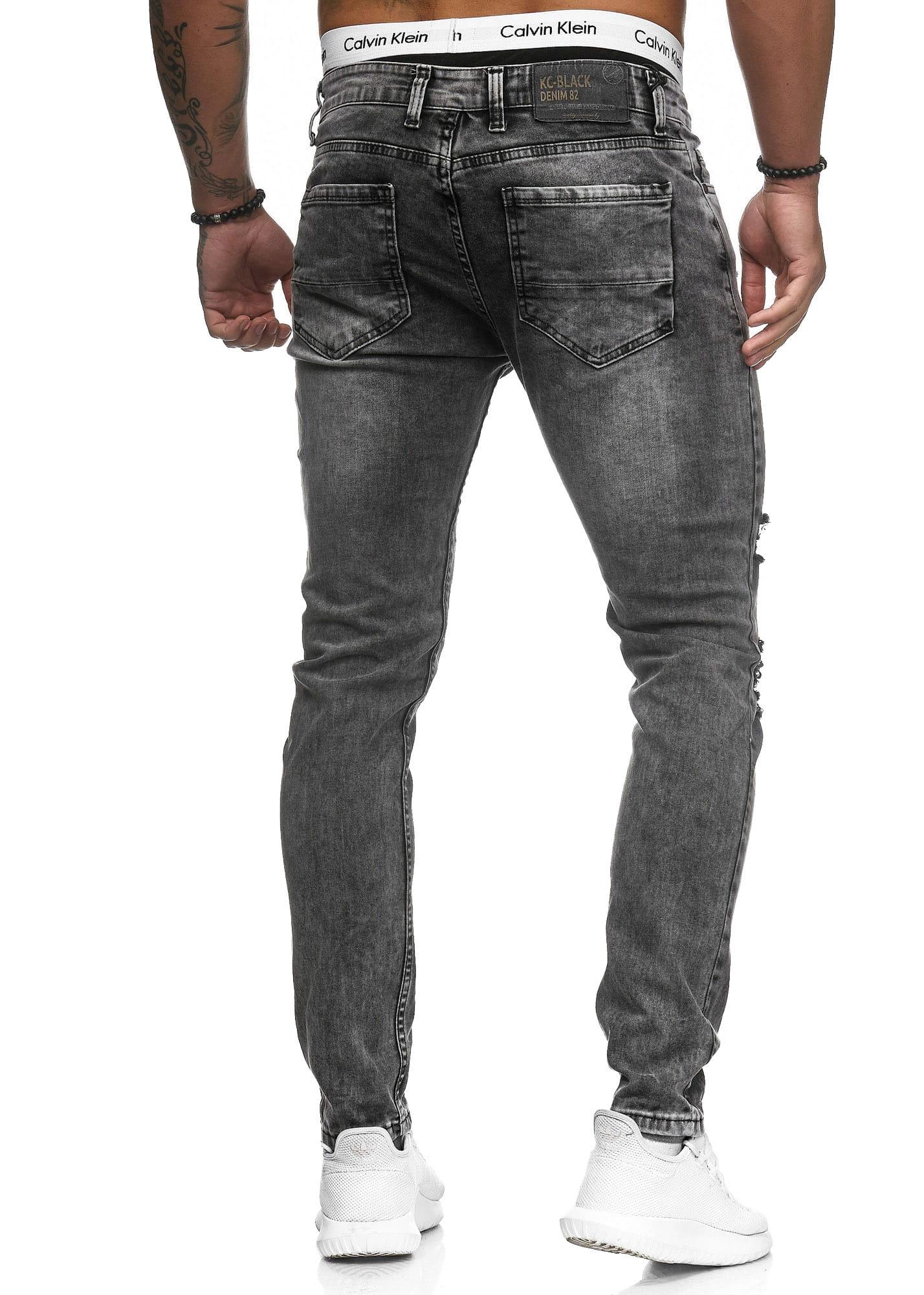 Herren Jeans Hose Slim Fit Männer Skinny Denim Designerjeans 5129C